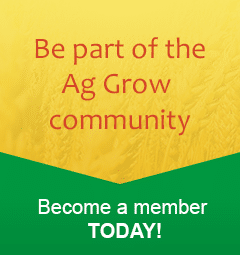 be part of the ag grow community - become a member today